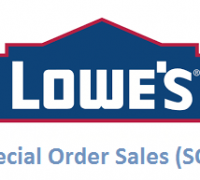 lowes special orders