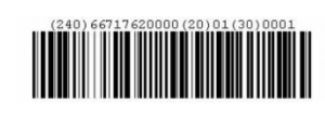 JCPenny Import Shipping Bar Code