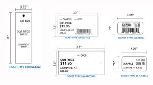 Designer Shoes Warehouse Labeling