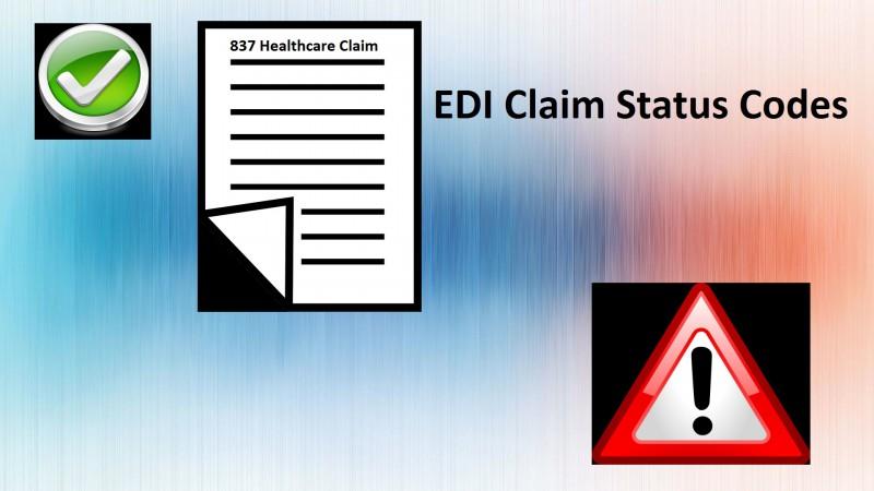 EDI Claim Status Codes
