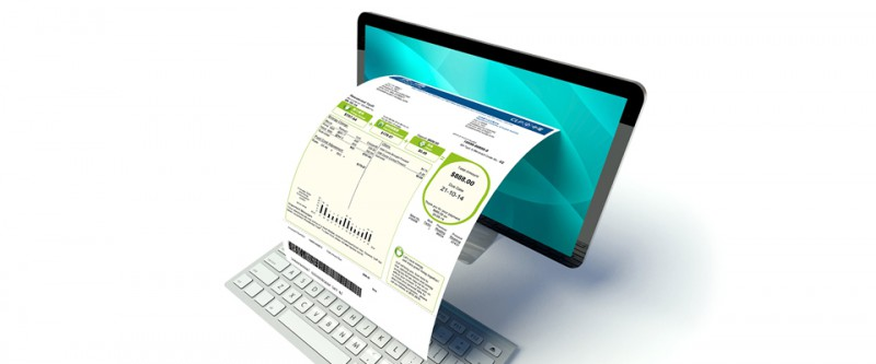 Invoice VDA 4906