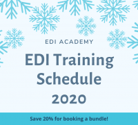 EDI Training Schedule 2020