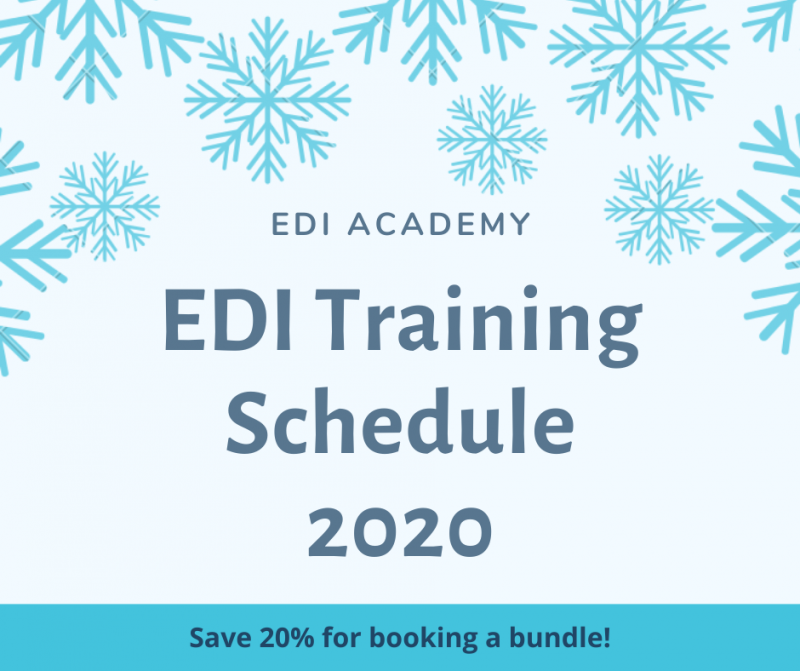 EDI Training Schedule