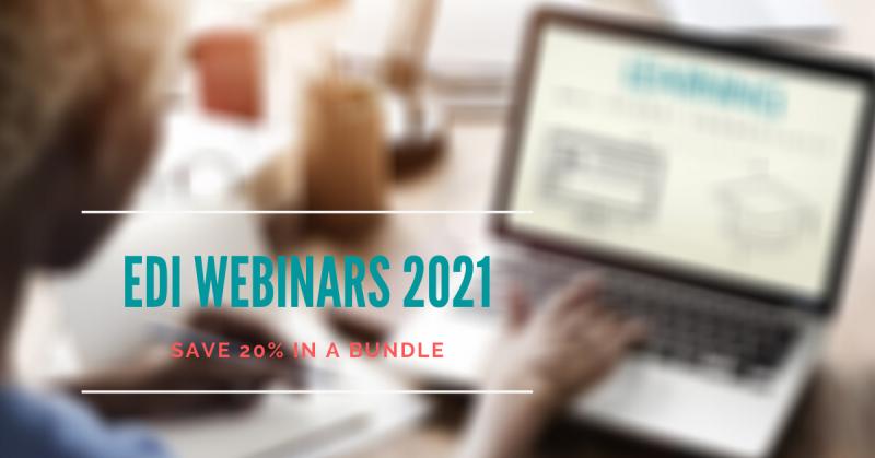 EDI Webinars 2021
